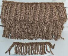 13 meters  BULLION Curtain Tassel Fringe Trim Upholstery BROWN/AS  12 cm-PL-3475