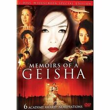 Memoirs of a Geisha (Two-Disc Widescreen Edition) BRAND NEW WITH FREE SHIPPING.