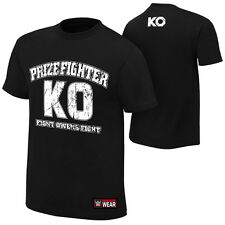 WWE AUTHENTIC KEVIN OWENS T-SHIRT M L XL 2XL NEW THE PRIZEFIGHTER FREE SHIPPING