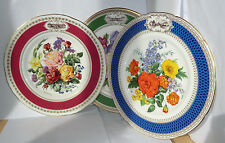 RHS Chelsea Flower Show Plate 1981 - 1993 Royal Horticultural Society