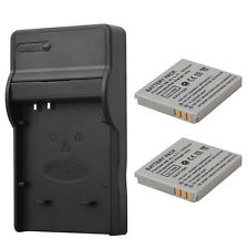 2x 1000mAh NB-4L Battery Pack+Charger For Canon IXUS 40 50 55 60 65 80 100 new