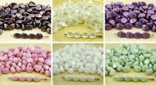 60pcs Pinch Bicone Faceted Spacer Czech Glass Beads 5mm