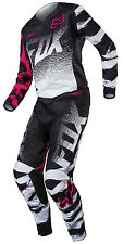 Fox Racing Black Pink Youth Girls 180 Dirt Bike Jersey & Pants Combo Kit MX ATV
