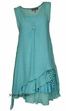 NEW Pretty Angel Clothing Vintage Apparel Two Piece Knit Top Tunic Aqua 69802