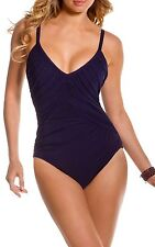 Magicsuit Miraclesuit Shirred Solids Roxy One Piece Swimsuit - Various sizes
