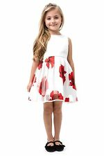 GIRLS FLORAL HOLIDAY WEDDING PAGEANT DRESS VARIOUS SIZES NEW NWOT BOUTIQUE