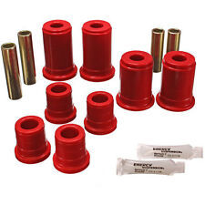 Energy Suspension 3-3147R Red Front Control Arm Bushing Set