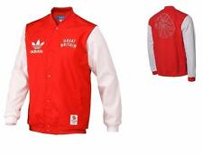 Adidas Originals Mens Jacket Team GB Bomber Jacket College Varsity Jacket