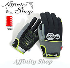 3 pairs Force360 MX1 Mechanic Gloves FPRMX1 Mechanics Work Glove Velcro Any Size