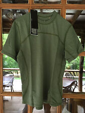 **Massif Breeze SS Mock Neck (FR) OD Green** SAS-Arcteryx LEAF-TAD Gear-DEVGRU