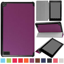 Thin Leather Shockproof Stand Case Cover Skin For Amazon Kindle New Fire 7 2017