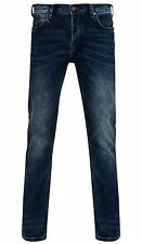 French Connection Jeans Indigo 55 Blue Tapered Slim Narrow Leg Denim Pants
