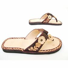 Women's Handmade Mexican Leather Sandal Huaraches size 5 to 10 U.S. -SF03-bn