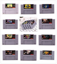 Large 15 Game Super Nintendo, SNES LOT --- AS IS --- Uncleaned / Untested ---
