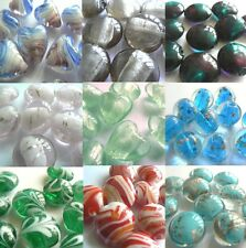 Lampwork Glass Beads - Your Choice of Shape, Colour & Size - 10 beads for sale