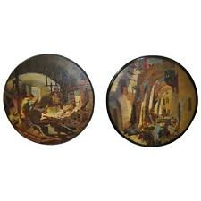 Lovely French Morocco Paintings, 1900-1920 - Pair