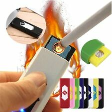 Hot No Gas USB Electronic Rechargeable Battery Flameless Cigarette Lighter XP