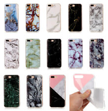 Marble Pattern Printed Thin Soft TPU Phone Case Cover for iPhone Samsung Huawei