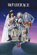 BeetleJuice - Movie One Sheet Poster (24x36) (Wall Art, Framed Posters, Artwork)