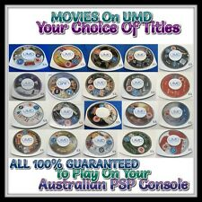 ●●✿🎞 UMD VIDEO / MOVIE ●● ONLY for Sony PSP - Dropdown Menu = Price 04/06/17