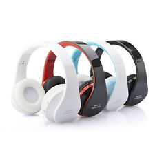 Handsfree Wireless Bluetooth Stereo Foldable Headphones With Mic Headset PC New