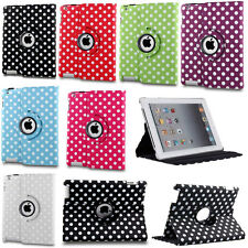 Luxury 360° Rotation Heavy Leather Stand Case Cover For Apple iPad Air / Air 2