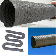 """12"""" Flexible Duct Hose 12 inch PVC DUCTING Air HOSE 35ft EXHAUST AIR VENT Pipe"""