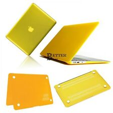 "Yellow Frosted/Crystal Plastic Hard Case For Apple Macbook Pro 13"" BT6U01"