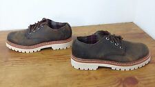 New! Womens Skechers Little Bolt 47938 Brown Leather Oxford Shoes Size 6 L42