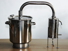 12L-70L Home Stainless Pure Water Alcohol Whiskey Beer Distiller Moonshine Still