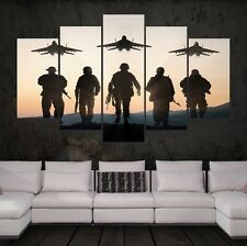 5 Panels Canvas High Quality HD Print Wall Art Picture poster 008 Raiders