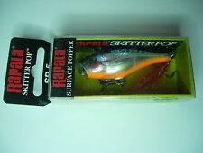RAPALA SKITTER POP SP5 FISHING LURES 1/4oz / 7g VARIOUS COLOURS