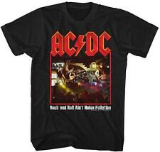 Noise Pollution ACDC Malcolm Angus Young Classic Rock Band Guitarist T-Shirt