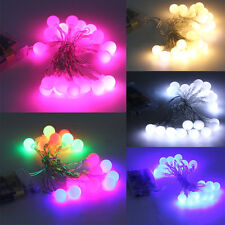 Ball Battery LED String Light Christmas Holiday Wedding Party Decoration XP