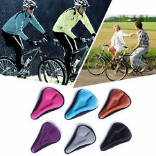 Silica Gel Bike Seat Bicycle Saddle Mat Comfortable Cushion Seat Cover A34 XP