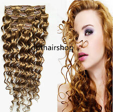 7pcs 100g Set Clip in on Real Remy Human Hair Extension 3 Lengths and 8 Colors!!
