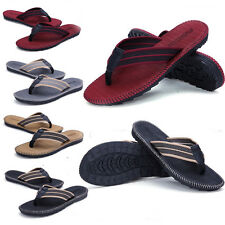 New Fashion Men's Flip Flops Beach Sandals Lightweight EVA Sole Comfort Thongs