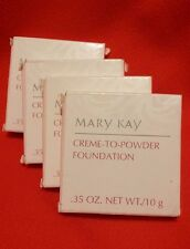RARE! Mary Kay CREME TO POWDER FOUNDATION - CHOOSE YOUR COLOR  - New in Box