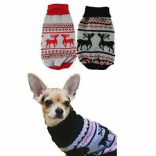 Pet Dog Clothes Winter chihuahua puppy cat for Small Dogs Clothing Christmas Swe