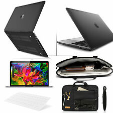 Macbook Pro Air 13 15'' Touch Bar 4 in 1 Matte Hard Case KB Laptop Carry BagFilm