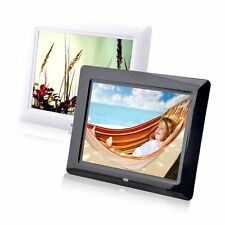 "8"" High TFT-LCD HD Digital Photo Movies Frame Alarm Clock MP3 MP4 Player XP"