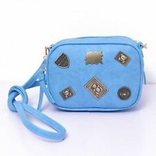 Women Mini Fashion Evening Party Design Rivet Decorated Casual Cross-body Bag