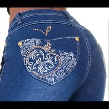 APPLE BOTTOM JEANS EMBROIDERED