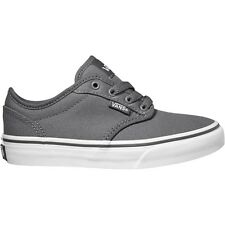 Vans ATWOOD PEWTER WHITE CANVAS VN000ZNR4WV GRADESCHOOL YOUTH WOMEN SHOES C