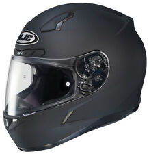 HJC Adult CL-17 Solid Matte Black Full Face Motorcycle Helmet Snell DOT