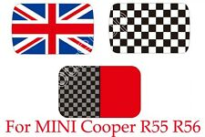 Checkered Union Jack Sun Roof Decal Stickers Fit Mini Cooper R55 Clubman US