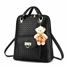 New Fashion Pu Leather Small Backpack School Bag for Teenager Girl