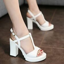 White And Brown Color  Solid Pattern Casual Wear Sandal For Women NS414