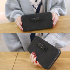 Fashion Women Leather Long Clutch Wallet Card Phone Holder Purse Bag US Location