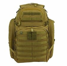 SOG Tactical Barrage 3 Day Pack Backpack Military Army Desert Tan Khaki US Flag